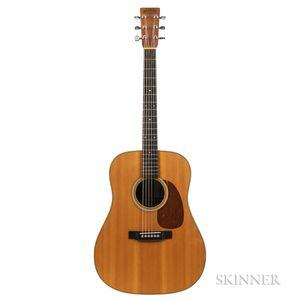 C.F. Martin & Co. D-28V Acoustic Guitar, 1985