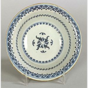 Delftware Blue and White Bowl