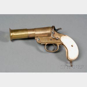 Brass Flare Gun by Wolselley