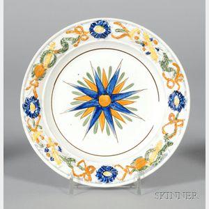 Dawson Pratt-type Pearlware Plate