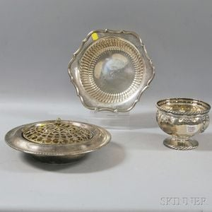 Three Sterling Silver Articles