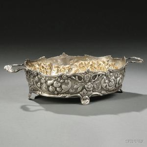 Victorian Sterling Silver Fruit Basket