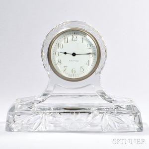 Cut Glass Clock