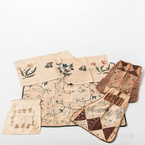 Five Early Textile Items