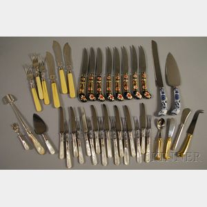 Group of Assorted Silver-plated Flatware