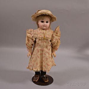 Portrait Jumeau Bisque Head Doll