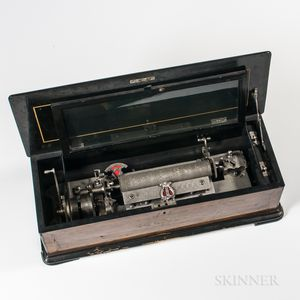 Interchangeable Six-air Cylinder Musical Box