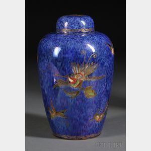 Wedgwood Hummingbird Lustre Vase and Cover