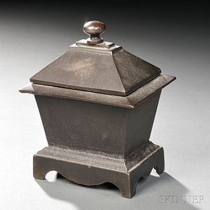 Cast Iron Covered Box
