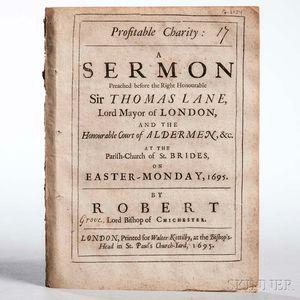 Grove, Robert (1634-1696) Profitable Charity.