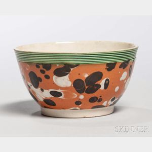 Mocha-decorated Pearlware Bowl