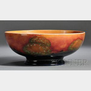 Moorcroft Pottery Center Bowl