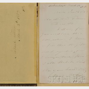 (Fillmore, Millard, 1800-1874), his copy, & Webster, Daniel (1782-1852)