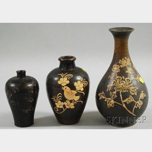 Three Chi-chou Vases