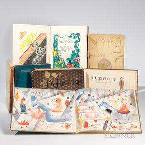 Children's Books, Seven Volumes, Some Signed.