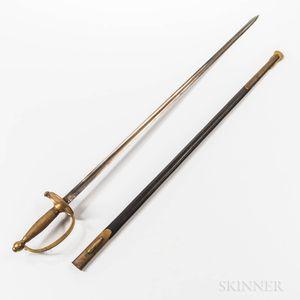 U.S. Model 1840 NCO Sword