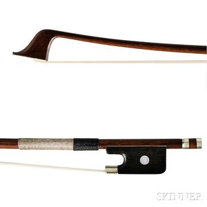 Child's French Violoncello Bow, Charles Bazin Workshop