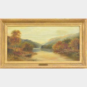 George Willis-Pryce (British, 1866-1949)      River Landscape