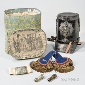 Militia Shako and Accessories