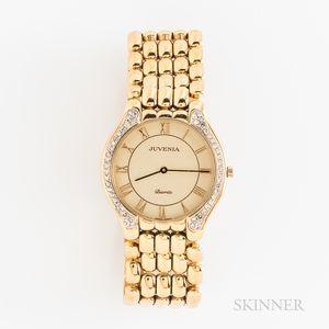Juvenia Biarritz 18kt Gold and Diamond Wristwatch