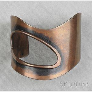 Copper Cuff, Art Smith