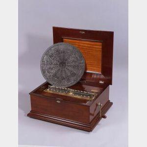 New Century 18 1/2-Inch Disc Musical Box