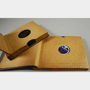 Duke Ellington Autographed Collection of Parlophone 78 RPM Records