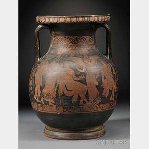 Sold for: $38,513 - Greek Provincial Red Figure Pelike