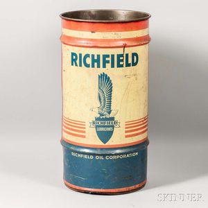 Richfield 20 Gallon Oil Can
