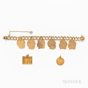 Eight Gold Charms
