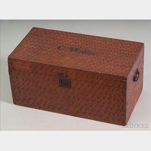 Painted Poplar Storage Box