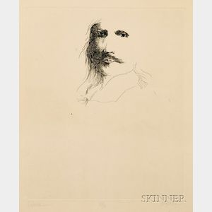 Leonard Baskin (American, 1922-2000)      Jusepe de Ribera