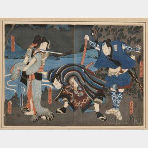 Toyokuni (1786-1865) Print