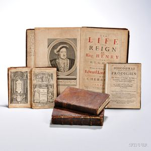 Early Books, Five Volumes, 17th Century English Imprints.