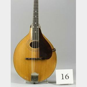 American Mandolin, Gibson Mandolin-Guitar Company, Kalamazoo, 1924, Model A2