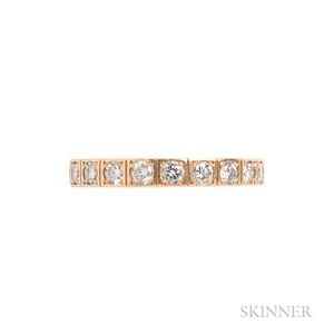 "18kt Gold and Diamond ""Lanieres"" Ring, Cartier"