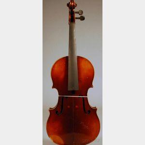 Modern Viola, Anton Schroetter Workshop, c. 1960