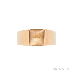 18kt Gold and Citrine Ring, Cartier