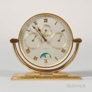 Tiffany & Co. Triple Date Desk Clock