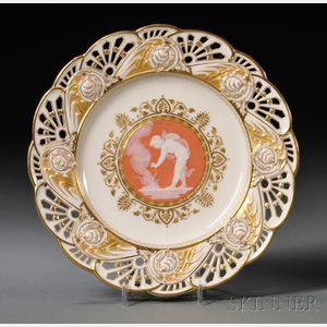 Mintons Pate-sur-Pate Cabinet Plate