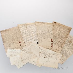 Ball Family of Concord, Massachusetts and Temple, New Hampshire, Archive, 1688-19th Century.