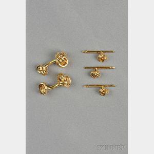 14kt Gold Dress Set, Tiffany & Co.