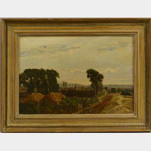 John Fulleylove (British, 1845-1908)      The Village