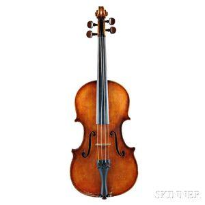 English Violin, Ernest S. Nunn, Essex, 1958
