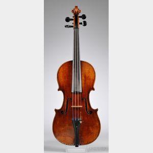 German Violin, Nicolaus Diehl, Darmstadt, 1842