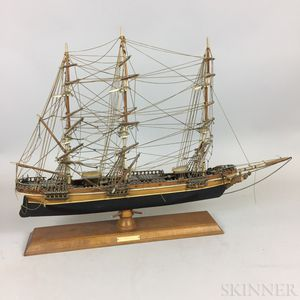 Kit-built Model of the Cutty Sark