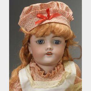 Handwerck Bisque Head Doll