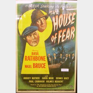 Ten Framed Movie Posters, Lobby Cards, and Prints