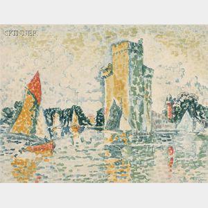 Jacques Villon (French, 1875-1963), After Paul Signac (French, 1863-1935)      Le Port de la Rochelle