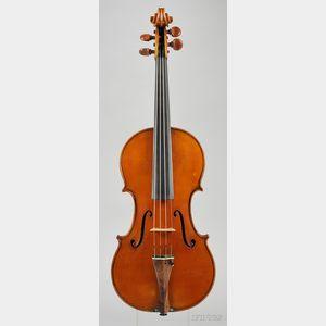 Italian Violin, Riccardo Antoniazzi, Milan, 1907